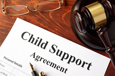 Can Social Security Disability benefits be garnished to pay child support?