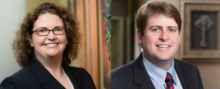 Bluestein Attorneys Allison Sullivan and Clarke Newton named Legal Elite 2018