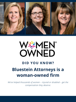 woman -owned Bluestein - Newsletter
